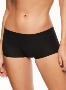 Majtki Chantelle Soft Stretch Boxer Czarne