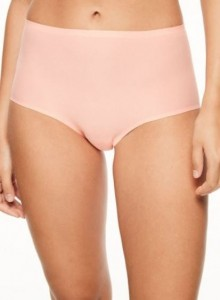 Majtki Chantelle Soft Stretch High Waist PUDROWE