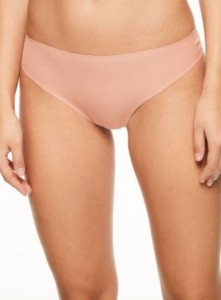 Majtki Chantelle Soft Stretch String PUDROWE