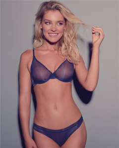 Biustonosz Gossard Glossies MIDNIGHT BLUE 6271