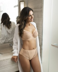 Biustonosz Fantasie Illusion SIDE SUPPORT cielisty